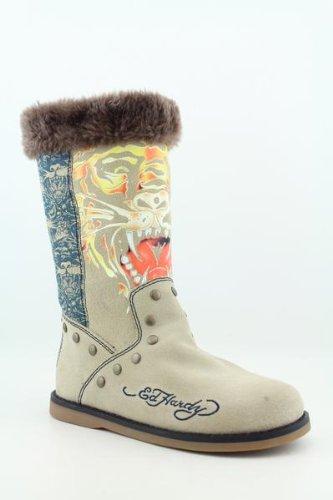 Bottes De Mode À Mi-mollet, Sable, Ed Hardy Womens Bootstrap