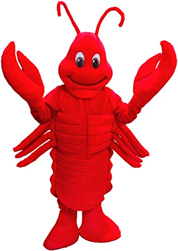 Lobster Mascot Costume]()