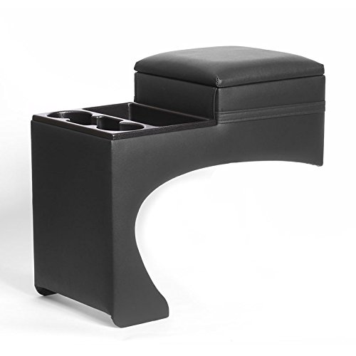 Suburban Bench Console (Classic Saddlebag Console - Universal - Black - Fits most full size Pickups and)
