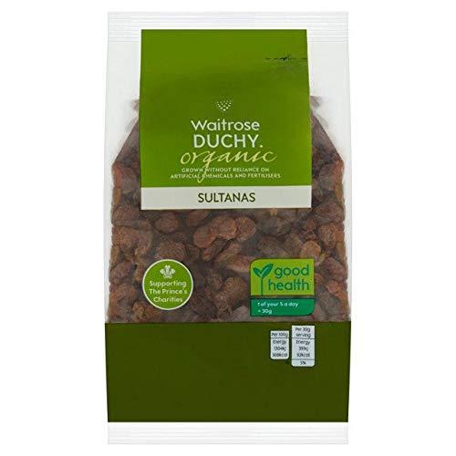 Waitrose Duchy Organic Sultanas 375g