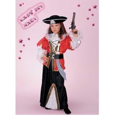Fancy Magic Costume Piratessa Lady dei Mari tg. 11 12 Ann