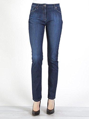 pour Jeans normale haute Carrera 101 Jeans Lavage Bleu Fonc denim tissu extensible style taille 753 style femme cigarette taille 7pntq51nSx