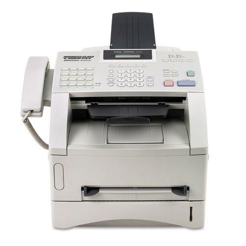 Brother IntelliFax 4100E Business-Class Laser Fax/Copier/Telephone, EA - BRTFAX4100E