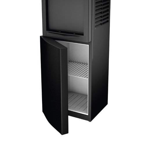 Honeywell HWB1052B Cabinet Freestanding Hot and Cold Water Dispenser with Stainless Steel Tank to help improve water taste and avoid corrosion, Child Safety Lock for Hot Water, Black by Honeywell (Image #1)