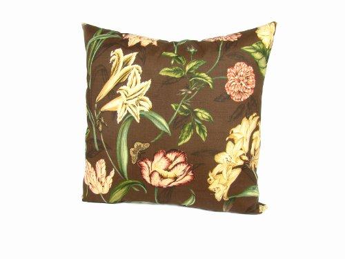 American Mills Somerset 24 by 24 Indoor/Outdoor Floor Pillow, Chocolate (Outdoor Furniture Somerset)