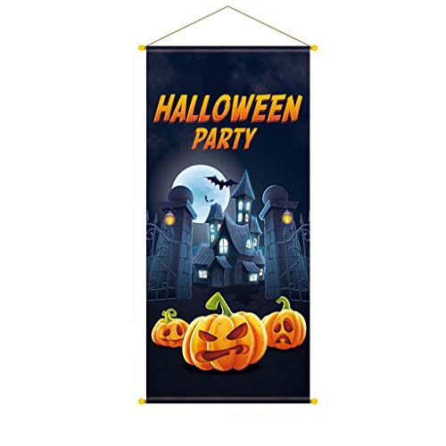 Scary Bloody Harley Quinn Costumes - MALLOOM Halloween Background Poster Bar Party