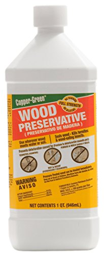 Green Products 210-328 Wood Preservative, Copper/Green