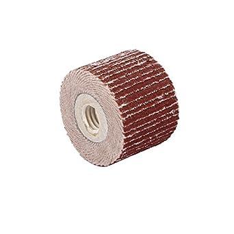 Forma eDealMax 400 Papel de lija Cilindro Flap muela Lijado Pulido Herramienta Brown: Amazon.com: Industrial & Scientific