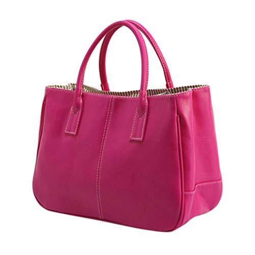 - Kangma Women Solid Color High Capacity Handbag Simple Fashion Crossbody Bag Totes Zipper PU Artificial Leather Crossbody Bags