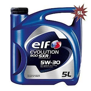 Elf 1951052031 - Aceite Sintã‰Tico Evolution 900 sxr 5w30 5l: Amazon.es: Coche y moto