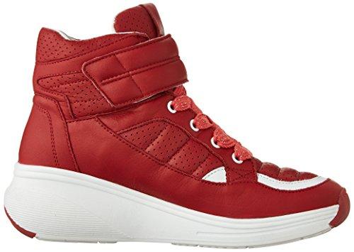 Pajar Kvinners Beverly Hills Mote Sneaker Rød