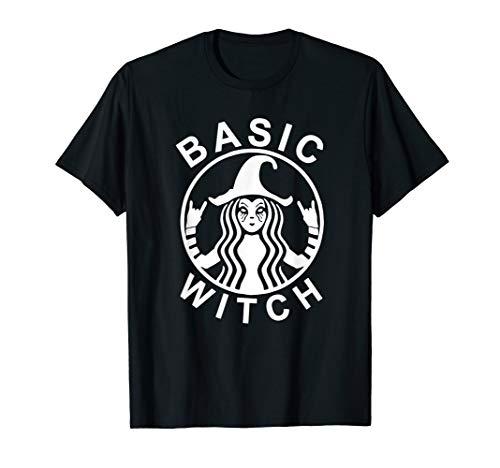 Funny Basic Witch Halloween Shirt Womens Halloween Gift]()