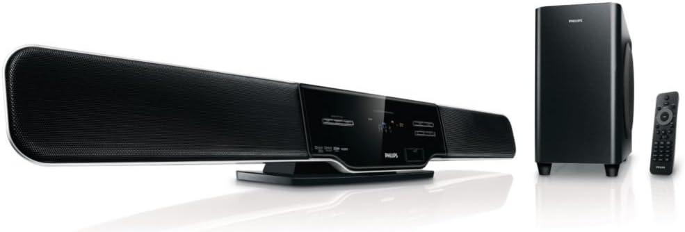 Philips HSB2313A/F7 altavoz soundbar 5.1 canales 300 W Negro ...