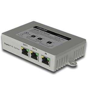 Amazoncom 2QX9125 CyberData 3Port Gigabit Ethernet Switch