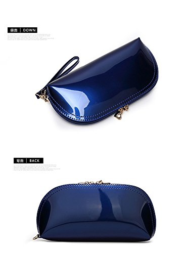 Bridal Bag Patent Clutch Purse Party Small Woman Scratchwallets Lady TwinkPurple Evening Leather Forkidlove 8qOzz