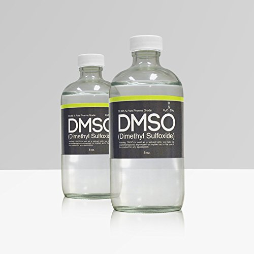 DMSO Store Inc. LOW ODOR DMSO 2 Glass 8 oz Bottle Special 99.995% Pharma Grade Dimethyl Sulfoxide price tips cheap