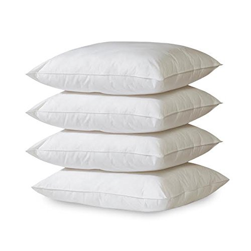 Millenium Linen 4- Pack Hypoallergenic Down Alternative Breathable Bed Pillows (Standard/Queen)