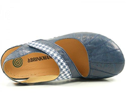 Dr. Brinkmann 710810 Bailarinas para mujer Blau