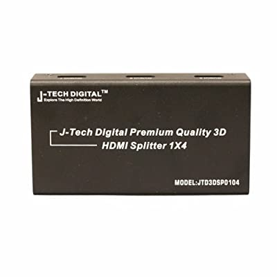 J-Tech Digital Powered Splitter Version 1.3 Certified with Deep Color and HD Audio