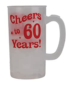 BigMouth Inc Cheers to 60 Years Beer Mug