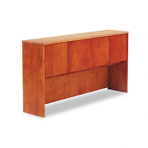 Alera RN267215CM Verona Veneer Series 72 by 15 by 36-Inch Enclosed Storage Hutch, Cherry