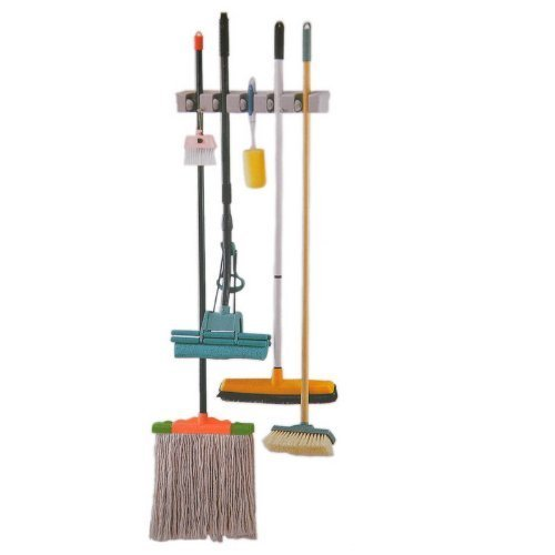 Set of 2 Xcellent Global Wall Mounted Garden Tool Rack Storage & Organization Hanger Broom Holder, 5-Position HG022x2 by Xcellent Global (Image #3)