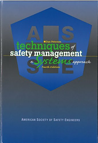 Techniques of Safety Management: A Systems Approach