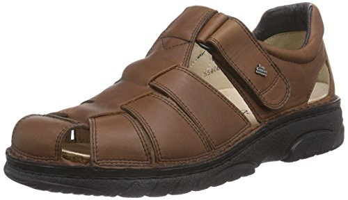 Men's Braun Sandals Preston Brown Finn Kastanie Closed Comfort wTHffq
