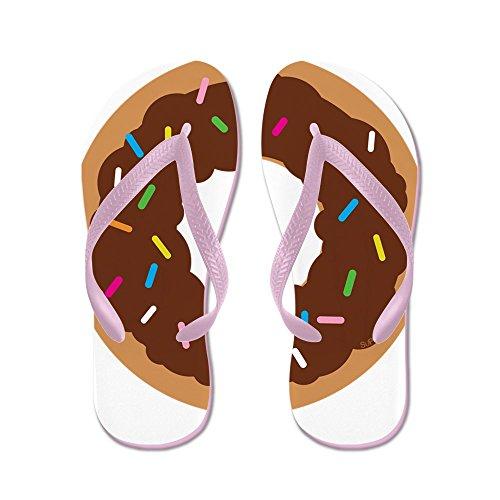 Cafepress Donut - Flip Flops, Grappige String Sandalen, Strand Sandalen Roze