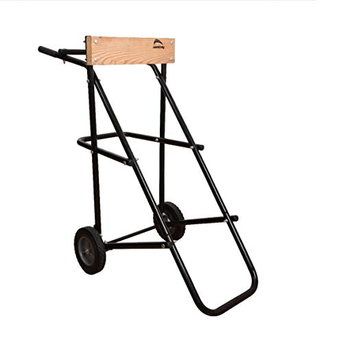 LEADALLWAY 315 LBS Outboard Boat Motor Stand Carrier Cart Dolly Storage Pro Heavy Duty Multi Purposed Engine Stand (Outboard Engines Used)