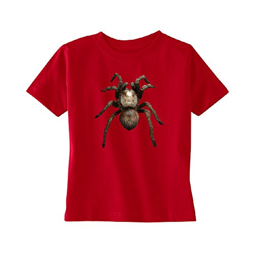 3D Spider - Tarantula Animals Toddler T-Shirt Venom Black Widow Kids Red 5T]()