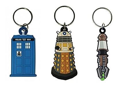 Amazon.com: Doctor Who – Merchandise – 2d Llavero/Llavero ...