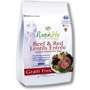 Nutri Source Pure Vita Grain Free Beef & Red Lentils, 5-pound