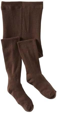 Country Kids Little Girls'  Organic Winter Tight,  Chocolate, 1-3 Years