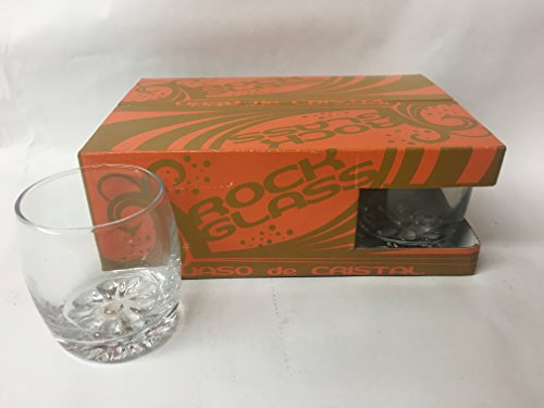 7oz Rock Glass with Dimpled Bottom (Case of 6)