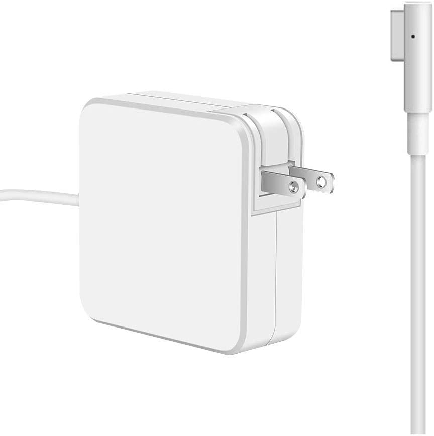 Jes Charger Replacement 60W L-Tip Power Adapter Charger for MacBook Pro 13-Inch Before Mid 2012