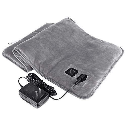 Oasislive Far Infrared Heating Pad for Pain Relief, Innovative Graphene Electric Heating Pads for Back Pain, Cramps, 3 Heat Settings with Auto Shut Off Large Size (12' x 24')