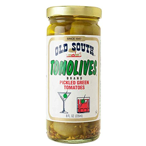 Old South Tom olives Pickled Green Tomato, 8 (Tomato Tom)
