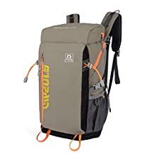 XSY Multifunction Mountaineering Backpack Waterproof Travel Bag for Riding Tour Trip Outdoor Camping Rucksack Daypack Color Khaki