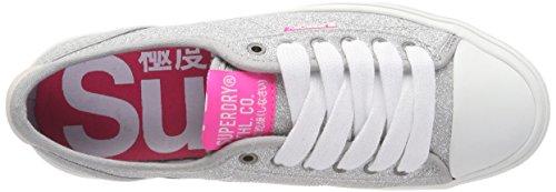 Slip Glitter Femme on Sneaker Pro Low Superdry qwzEI1x