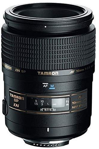Tamron AF 90mm f/2.8 Di SP AF/MF 1:1 Macro Lens for Nikon Digital SLR Cameras (Renewed)