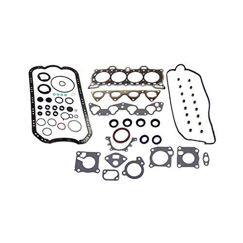 DNJ FGS2095 Full Gasket/Sealing Set For 1988-1995 / Honda/Civic, CRX / 1.5L / SOHC / L4 / 8V / 1493cc / D15B6, D15B8