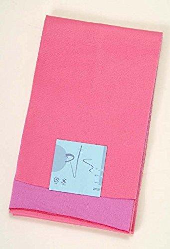 ジョブ適格ご近所浴衣帯 リバーシブル(無地)長尺 ピンク 薄紫 レディース用 Lサイズ LLサイズ 410cm