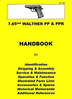 technical manual walther pistol