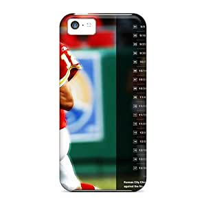 High Quality Shock Absorbing Cases For Iphone 5c-kansas City Chiefs