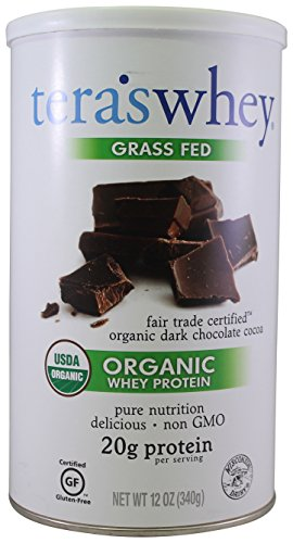 tera's: Organic Low-Carb Gluten-Free Certified Whey Protein, Fair Trade Certified Dark Chocolate, 12 oz