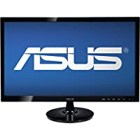 Asus - 20 Widescreen Flat-Panel LED HD Monitor - Black