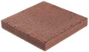 OLDCASTLE 10051050 - Piedra cuadrada (12 x 12 pulgadas), color rojo