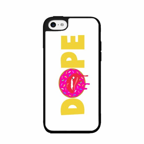 BleuReign(TM) Dope with Dripping Donut Plastic Phone Case Back Cover iPhone 5 5s and iPhone SE (Dripping Ice Cream Iphone 5s Case compare prices)