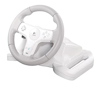 f3a66c6f97a Logitech Speed Force Wireless Force Feedback Wheel for Wii: Amazon.ca:  Computer and Video Games